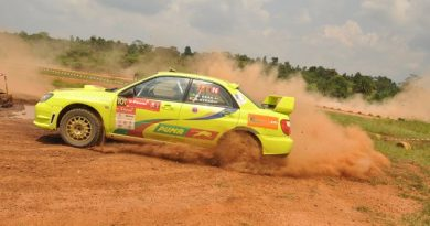 VPower Pearl Of Africa Africa Rally Flags Off,Kikankane Wins the First Round