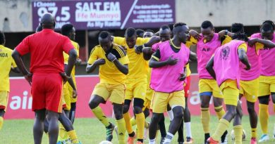 Midfielder Mawejje joins Cranes camp, Basena cautions players ahead of Ghana clash*