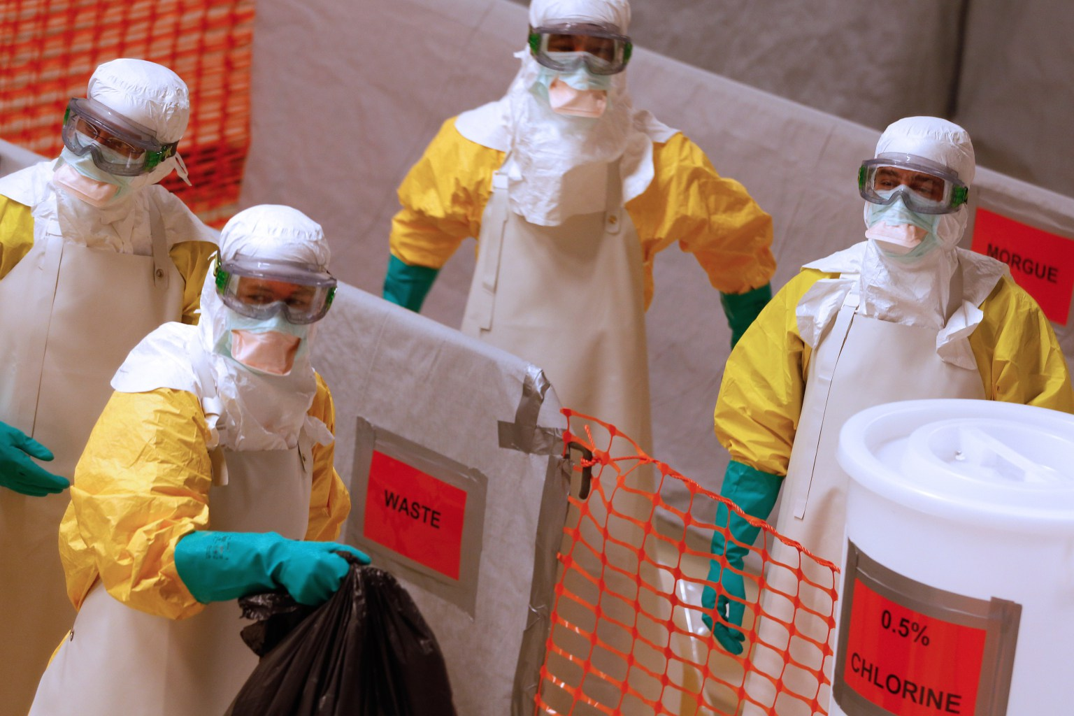 The whole World is on stand-by to tackle Ebola.